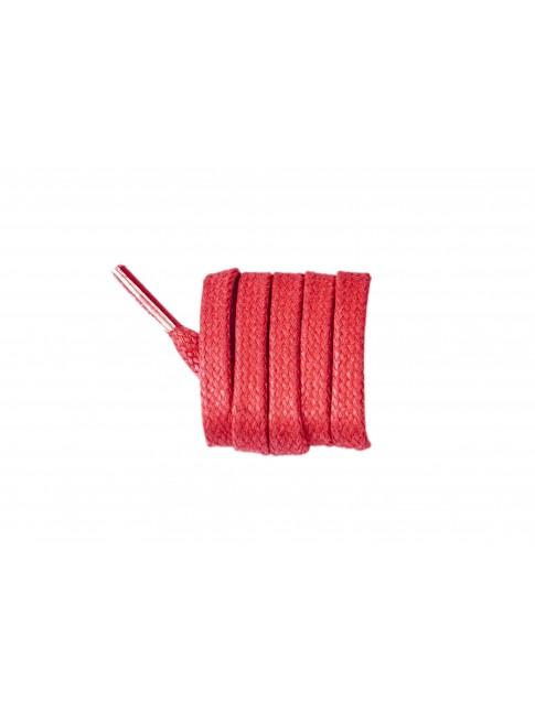 Lacets rouge vermillon