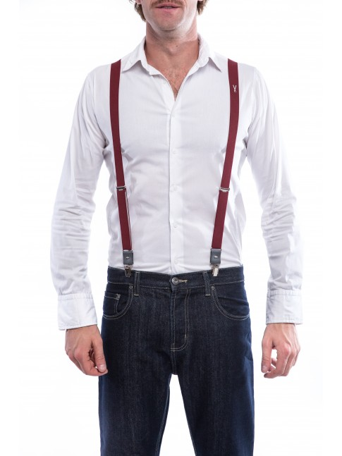 Les Bordelaises - Suspenders for men and women - Bretelles made in France - Vertical l'Accessoire